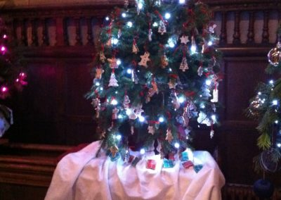 WI entry for St. Mary's Christmas Tree Festival December 2014