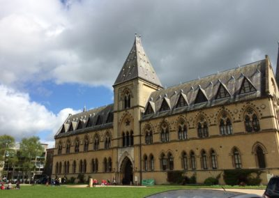 At the Natural History Museum for TV Inspector Lewis programme for our Oxford Morse Walk