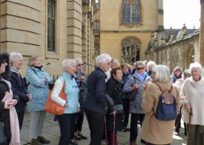 Morse Walk Oxford April 2018