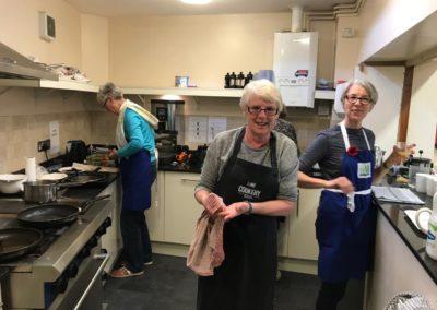 Big Breakfast November 2018: The kitchen Team