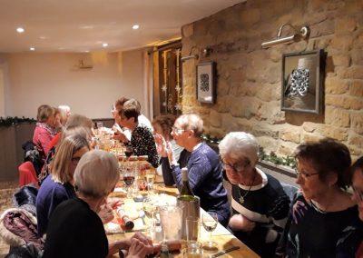 Christmas Social. Bloxham, December 2019