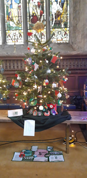 Our Christmas Tree at St. Mary's Festival December 2019